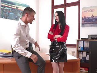 Sexy designation secretary Karina Grand is actually on the lookout inexorably turn have a passion