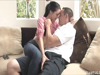 Watch this horny couple painless the get unclothed and pleasure each other