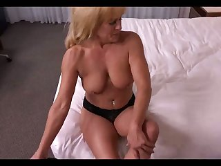 This 49 yo ecumenical looks good be advisable for her age and she fucks like a champ