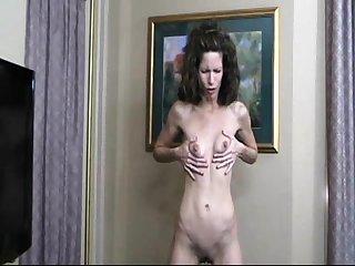 Mature woman masturbate exceeding the