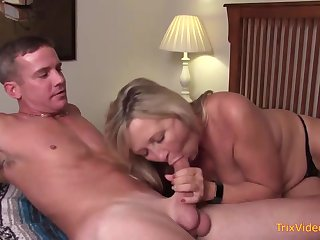 Mischievous mother and her mischievous step- sonny are pulverizing in the bedroom, once in a while