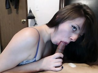 Oral creampie is all about what she wanted that day