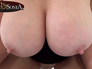 Lady Sonia shoves her huge bowels in your face