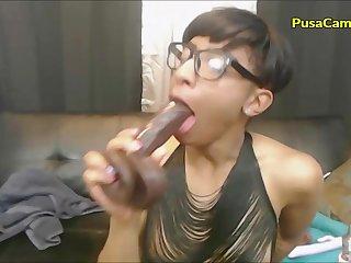 Hot Black Girl Slutty Deepthroat and Everlasting Fuck Brook