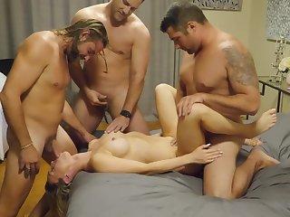 Secretary Group Sex Hardcore F