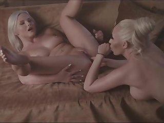 Hot milf mistress and the brush sluty slave - Christina shine