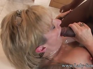 Divine Lady Sonia got fucked in interracial XXX dusting