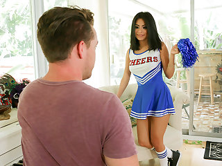 ExxxtraSmall - Sexy Cheerleader Teen Fucks Huge Cock